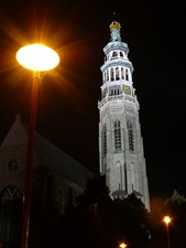 Middelburg at night