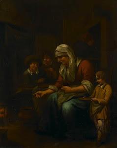 RIJKS: Bernardus van Schijndel: painting 1709