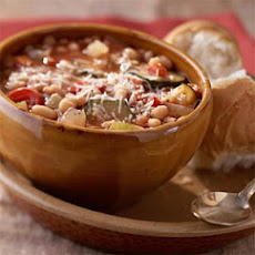 Show-Me-State Vegetable-Bean Soup