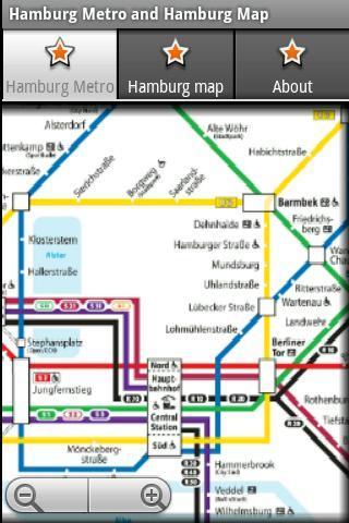 汉堡地铁运行图 汉堡地图
