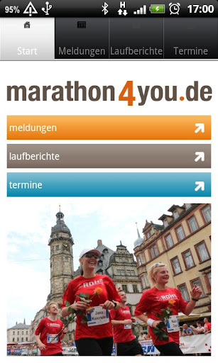 marathon4you.de - mobile