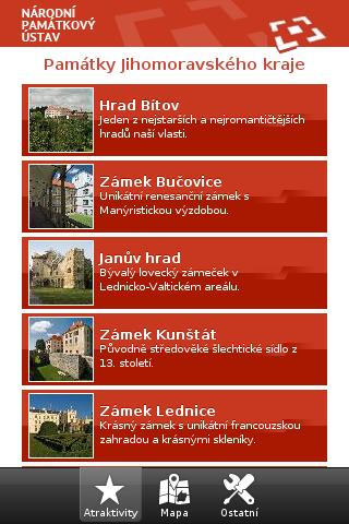 Památky jihomoravského kraje