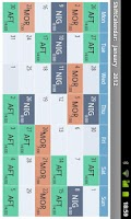 Screenshot of ShiftCalendar