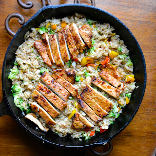 Pan Seared Sriracha Lemon Pork Chops
