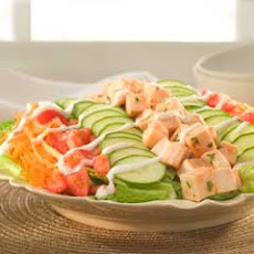 Spicy Turkey-ranch Salad