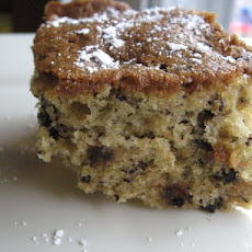 Cinnamon Banana Chocolate Chip Cake