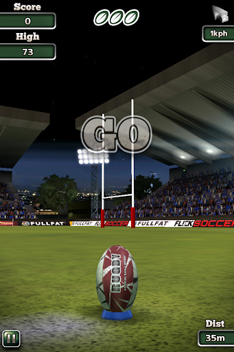 Flick Nations Rugby - screenshot