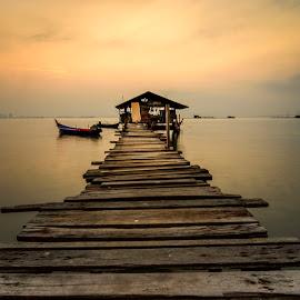 Jelutong IV by DrPyan Mohd Nor - Landscapes Sunsets & Sunrises ( nics visual, genx cheq, rizal zawawi, karlidz, zainy zinie )