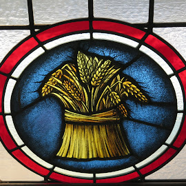 Wheat by David Gilchrist - Artistic Objects Glass ( church, window, artistic, glass, stained glass )