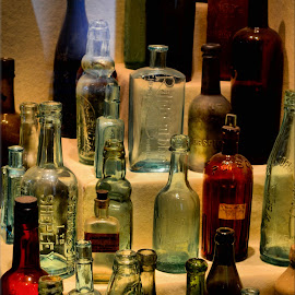 bottle selection by Nic Scott - Artistic Objects Glass ( glass, bottles )