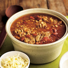 Tasty Turkey Chili