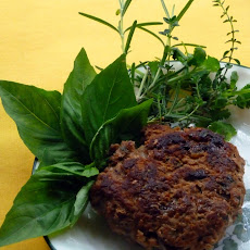 Turkey Burger with Fresh Herbs and a Kick