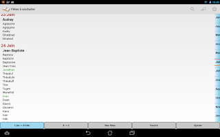 Screenshot of Fêtes à souhaiter
