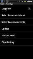Screenshot of Smart extension for Facebook