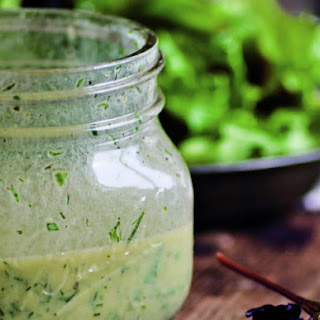 Simple Green Salad With Buttermilk Herb Dressing From 'The Nourished Kitchen'
