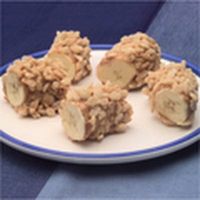 Nutty Banana Nuggets