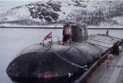 俄罗斯的库尔斯克号潜艇