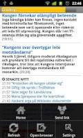 Screenshot of Svenska Tidningar