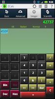 Screenshot of ZCalc