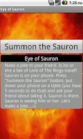 Screenshot of Eye of Sauron