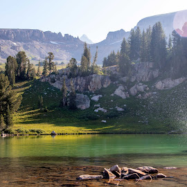 by Colt Fetters - Sports & Fitness Swimming ( backpacking, outdoor, summer, teton, arkansas )