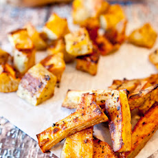 Caribbean Citrus Roasted Sweet Potatoes (Vegan and Gluten Free)