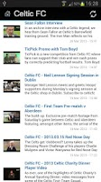 Screenshot of Celtic FC News+
