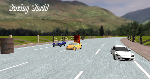 Super Fast Racing World 3D - screenshot