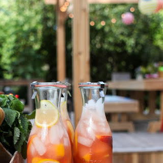 Honey-Sweetened Peach Lemonade