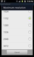 Screenshot of Send Reduced