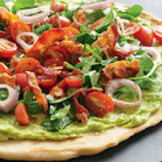Bacon-Avocado Griddle Pizzas