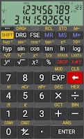 Screenshot of RealCalc Scientific Calculator