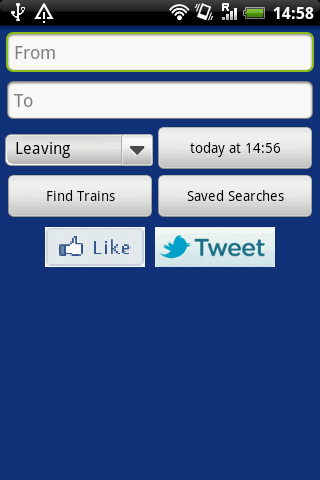 UK Trains Journey Planner Free