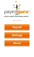 Screenshot of Payroll Guru