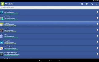 Screenshot of APK Extractor•APP Share/Backup