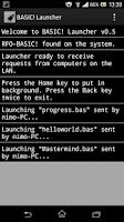Screenshot of BASIC! Launcher (WiFi)