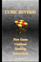 Screenshot of CUBIC REVERSI