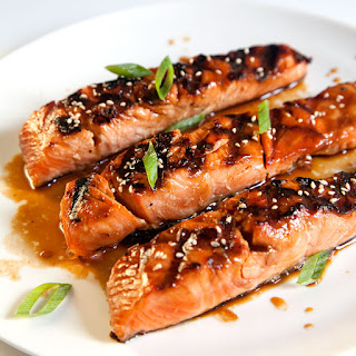 Salmon Teriyaki Green Onions Recipes
