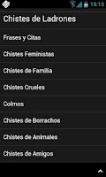 Screenshot of Chistes Cortos V2