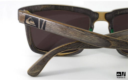 Quicksilver 7 Glasses Frames : Quicksilver wood eyewear by Vuerich b Blickers