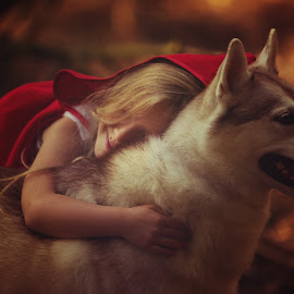 Red Riding Hood  by Dorota Aleksandra Nowak - Babies & Children Child Portraits