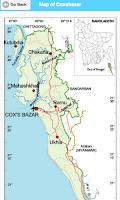 Screenshot of Map of Bangladesh