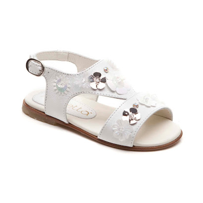 Simonetta Shoes Decorative Flower Sandal SANDAL