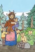 Screenshot of Книга детям Волк и Семь Козлят