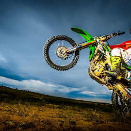 Wheelie by Jim Harmer - Sports & Fitness Motorsports ( motocross, action, sports, dirt bike, photography, athlete )