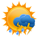 Live Weather mobile app icon