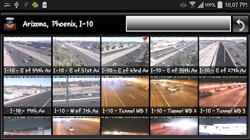 Screenshot of Phoenix and Arizona Cameras