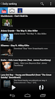 Screenshot of PVSTAR+ (YouTube Music Player)