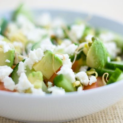 Avocado and Feta Salad