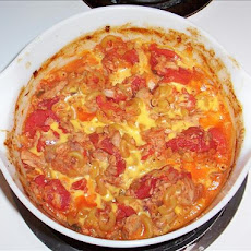 Tuna Unusual Casserole